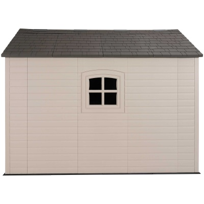 Lifetime 8ft x 10 ft Outdoor Storage Shed (Windows in Doors), image 8