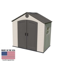 8 x 5 ft Outdoor Storage Shed with Window