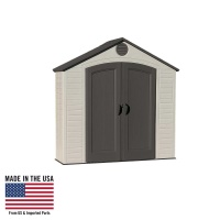 8 x 2.5 ft Outdoor Storage Shed