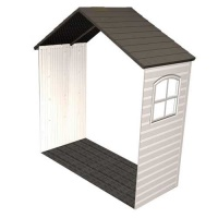 8 ft x 2.5 ft Outdoor Storage Shed Expansion Kit with One Window