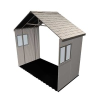 11 x 5 ft Outdoor Storage Building Expansion Kit with 2 Windows