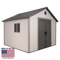 11 x 11 ft Outdoor Storage Shed Building