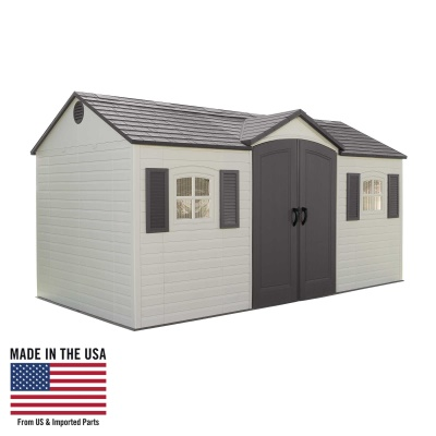 6446 outdoor storage shed 15 x 8 ft