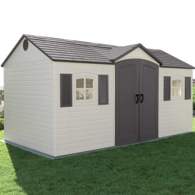 6446 Outdoor Storage Shed 15 x 8 ft, image 3