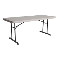 6 ft. Professional Grade Folding Table (Putty)