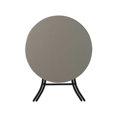 33 in. Round Folding Table (Putty), image 3