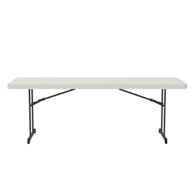 8 ft Professional Grade Folding Table (Almond), image 2