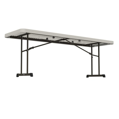 8 ft Professional Grade Folding Table (Almond), image 5