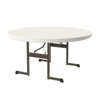 Lifetime Professional 60 In. Round Table (Almond)