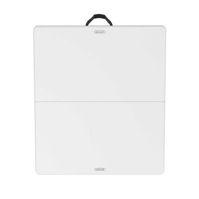 Fold In Half Card Table (White Granite), Image