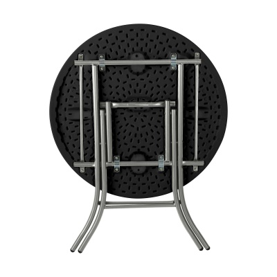 Lifetime 33 in. Round Folding Table (black), image 2