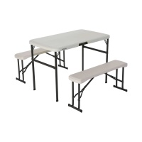 Lifetime Recreation Table Set (Almond)