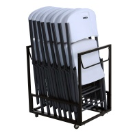 Contoured Chair & Cart Combo (8 Chairs and 1 Cart)