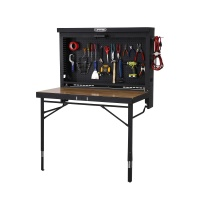 4 ft. Adjustable Height Wall-Mounted Work Table