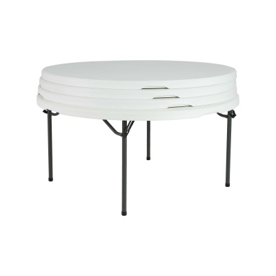 In Commercial Round Tables And Chairs Set White Granite - Round tables and chairs