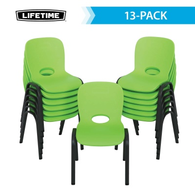Contemporary Children s Stacking Chair 13 Pack  Lime Green   Contemporary Children s Stacking Chair 13 Pack  Lime Green . Green Plastic Stack Chairs. Home Design Ideas