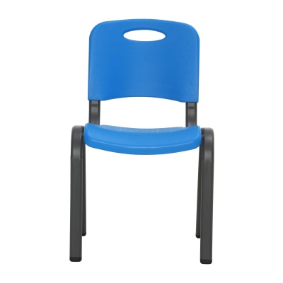 Commercial Children's Stacking Chair 4-Pack (Dragonfly Blue), image 6