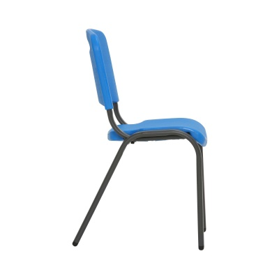 Commercial Children's Stacking Chair 4-Pack (Dragonfly Blue), image 8