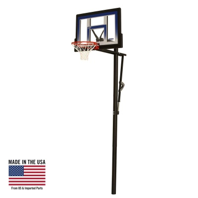 48 in. In-Ground Basketball Hoop - Action Grip, image 1