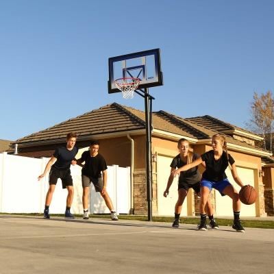 48 in. In-Ground Basketball Hoop - Action Grip, image 10