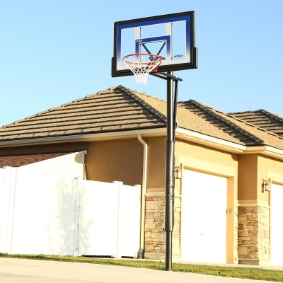 48 in. In-Ground Basketball Hoop - Action Grip, image 6