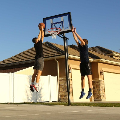 48 in. In-Ground Basketball Hoop - Action Grip, image 7