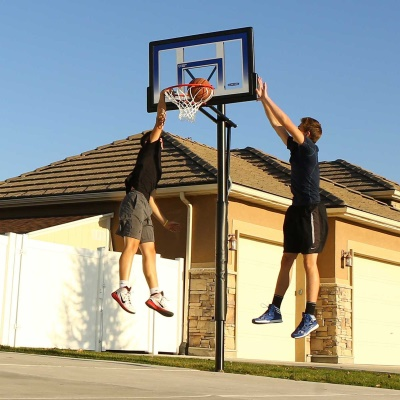 48 in. In-Ground Basketball Hoop - Action Grip, image 8