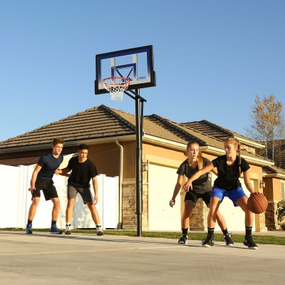48 in. In-Ground Basketball Hoop - Action Grip, image 9