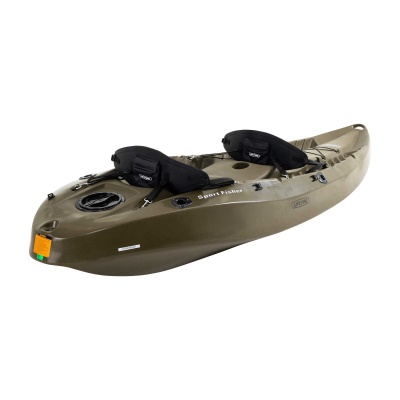 10 ft Sit-on-Top Sport Fisher Kayak (Olive Green), image 7
