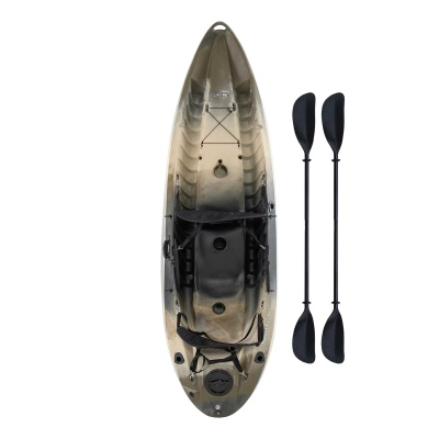 10 ft Sit-On-Top Sport Fisher Kayak (Camouflage), image 1