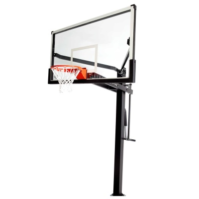Mammoth 72 In. Glass Basketball Hoop, image 1