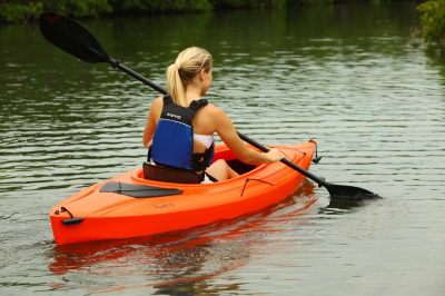 Payette 9 ft. 8 in. Sit-Inside Kayak (Orange), image 11