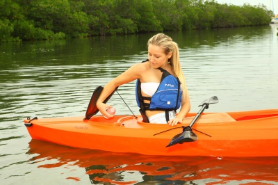 Payette 9 ft. 8 in. Sit-Inside Kayak (Orange), image 13