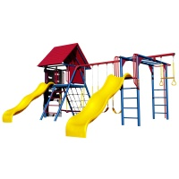 Double Slide Deluxe Playset (Primary Colors)
