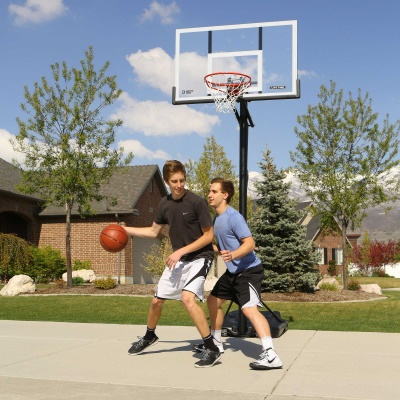 54 in. Action Grip Basketball System, image 10