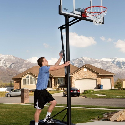 54 in. Action Grip Basketball System, image 11