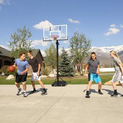 54 in. Action Grip Basketball System, image 8