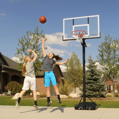 54 in. Action Grip Basketball System, image 9