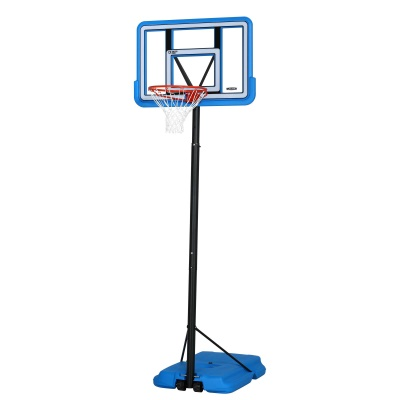 44 in. Pro Court Portable Basketball Hoop with Blue Base, image 2