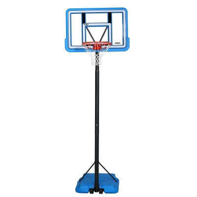 44 in. Pro Court Portable Basketball Hoop with Blue Base, image 3