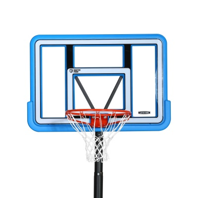 44 in. Pro Court Portable Basketball Hoop with Blue Base, image 4