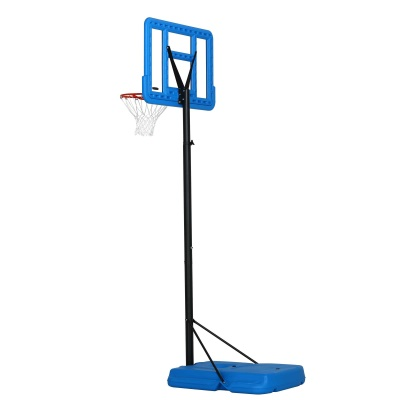 44 in. Pro Court Portable Basketball Hoop with Blue Base, image 5