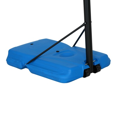 44 in. Pro Court Portable Basketball Hoop with Blue Base, image 6