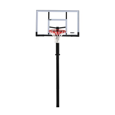 In-ground Basketball Hoop - 54 in. Steel-Framed Shatterproof, Powerlift, image 1