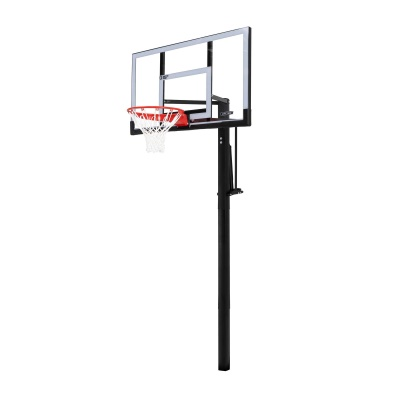 In-ground Basketball Hoop - 54 in. Steel-Framed Shatterproof, Powerlift, image 2