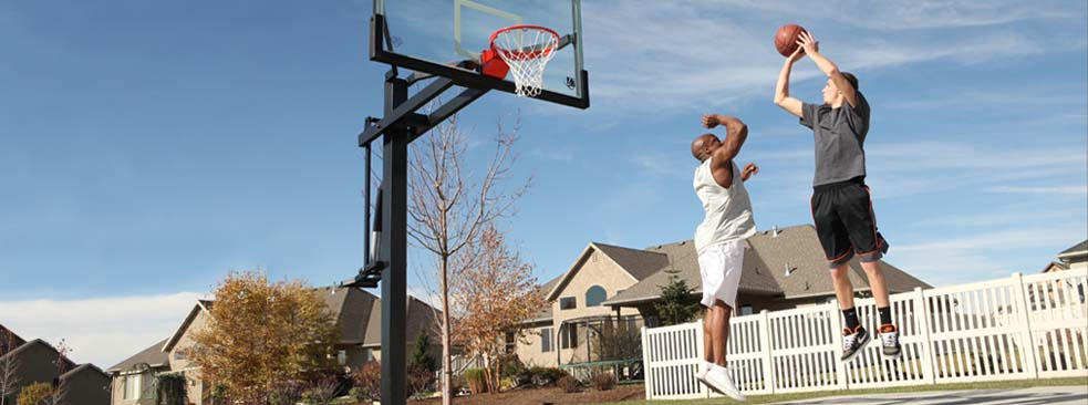 Play Like the Pro's with Our High-End Mammoth Basketball System