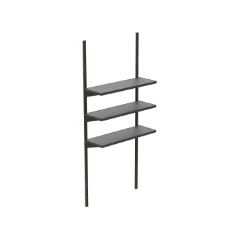 10 in. x 30 in. Shelf Kit (3 pc.)
