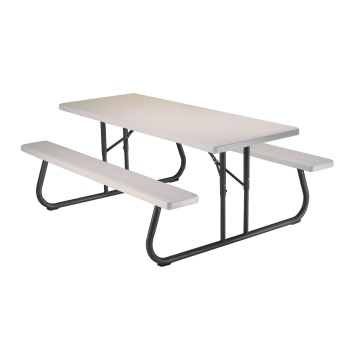 6-Foot Picnic Table (almond)