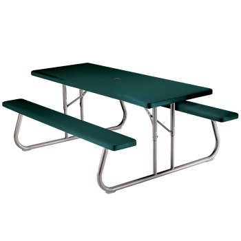 6-Foot Picnic Table (green)