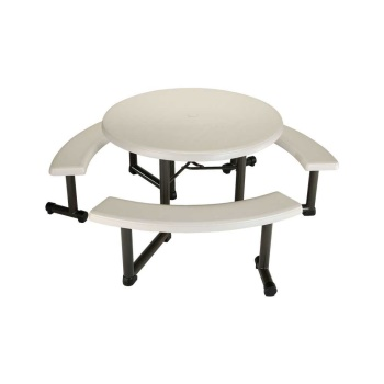 44-Inch Round Picnic Table